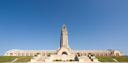Douaumont WWI Ossuary in Verdun, France